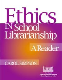 Ethics in School Librarianship cover image