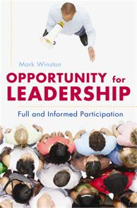 Opportunity for Leadership cover image