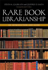 Rare Book Librarianship cover image
