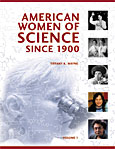 Cover image for American Women of Science since 1900