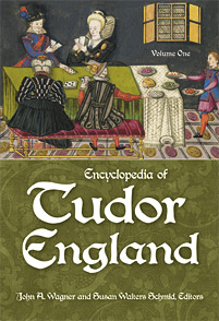 Encyclopedia of Tudor England cover image