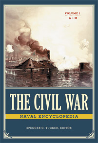 Cover image for The Civil War Naval Encyclopedia