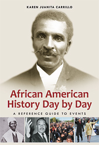 Cover image for African American History Day by Day