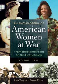 An Encyclopedia of American Women at War cover image