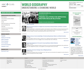 Cover image for World Geography