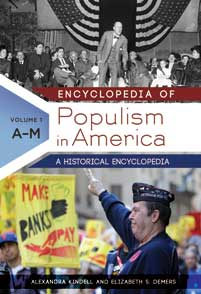 Encyclopedia of Populism in America cover image