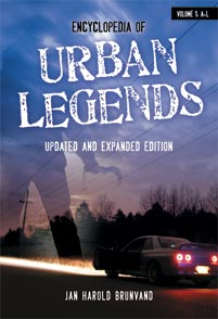 Encyclopedia of Urban Legends, 2nd Edition cover image
