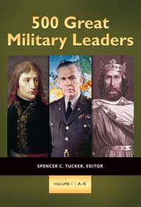 500 Great Military Leaders cover image