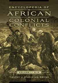Cover image for Encyclopedia of African Colonial Conflicts