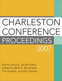 Charleston Conference Proceedings 2007 cover image