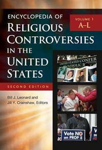 Encyclopedia of Religious Controversies in the United States, Second Edition cover image