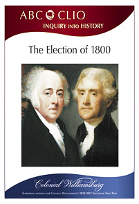 The Election of 1800 cover image