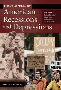 Encyclopedia of American Recessions and Depressions cover image