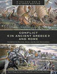 Cover image for Conflict in Ancient Greece and Rome