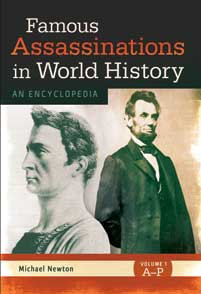 Cover image for Famous Assassinations in World History