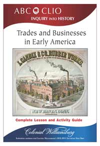 Trades and Business in Early America cover image