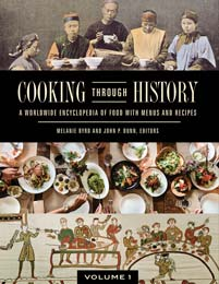 Cover image for Cooking through History