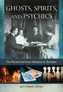Cover image for Ghosts, Spirits, and Psychics