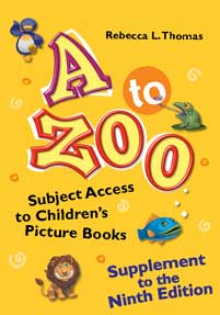 A to Zoo, Supplement to the Ninth Edition cover image