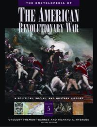 Cover image for The Encyclopedia of the American Revolutionary War