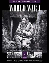 The Encyclopedia of World War I cover image