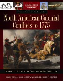The Encyclopedia of North American Colonial Conflicts to 1775 cover image