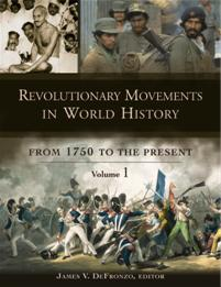 Cover image for Revolutionary Movements in World History