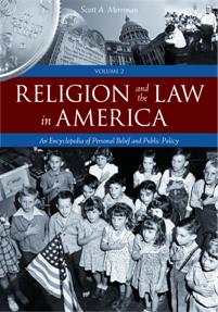 Cover image for Religion and the Law in America