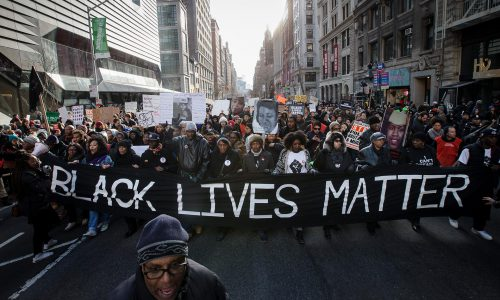 BLM-protest